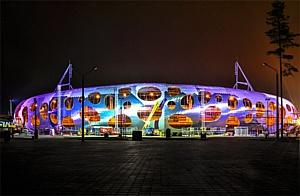 Освещение IntiLED для стадиона Батэ