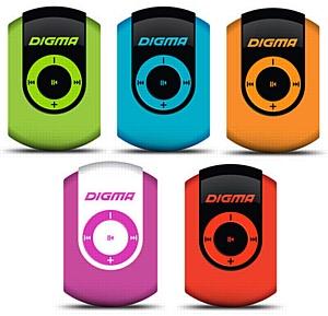 MP3 плеер Digma C1: к лету готовы