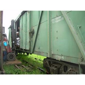 О досмотре железнодорожных вагонов за период с января месяца по июль 2014 г