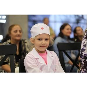 Юные нижегородцы смогли почувствовать себя в роли настоящих докторов