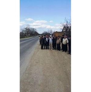 По обращению ОНФ на аварийно-опасном перекрестке трассы Махачкала – Хасавюрт установят светофор