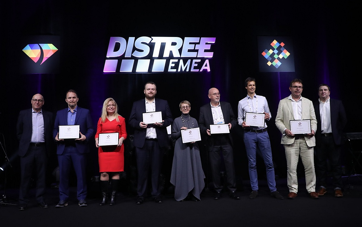 Merlion вновь назван дистрибьютором года на форуме DISTREE EMEA 2018