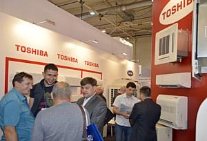 Кондиционеры Toshiba и Carrier на выставке АкваТерм в Киеве