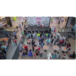 Бейблэйд-волна в торгово-развлекательном центре «Нора»