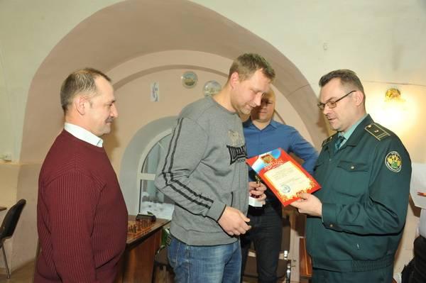 В Смоленской таможне определили сильнейших шахматистов