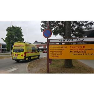 «Петербургская Неотложка» перевезла пациента в Финляндию
