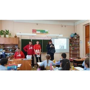 Команда «Молодежки ОНФ» провела мастер-класс по изготовлению фликеров