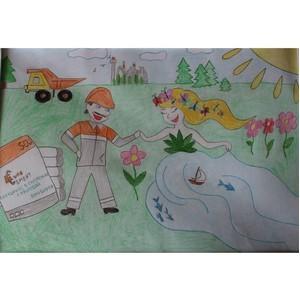 «Катавский цемент» подвел итоги конкурса детского рисунка