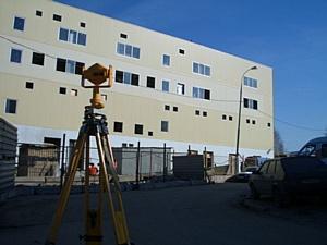 Услуги по геодезическому сопровождению строительства