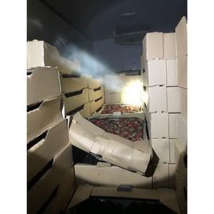 Смоленские таможенники пресекли  очередную попытку ввоза товаров из списка продуктового эмбарго