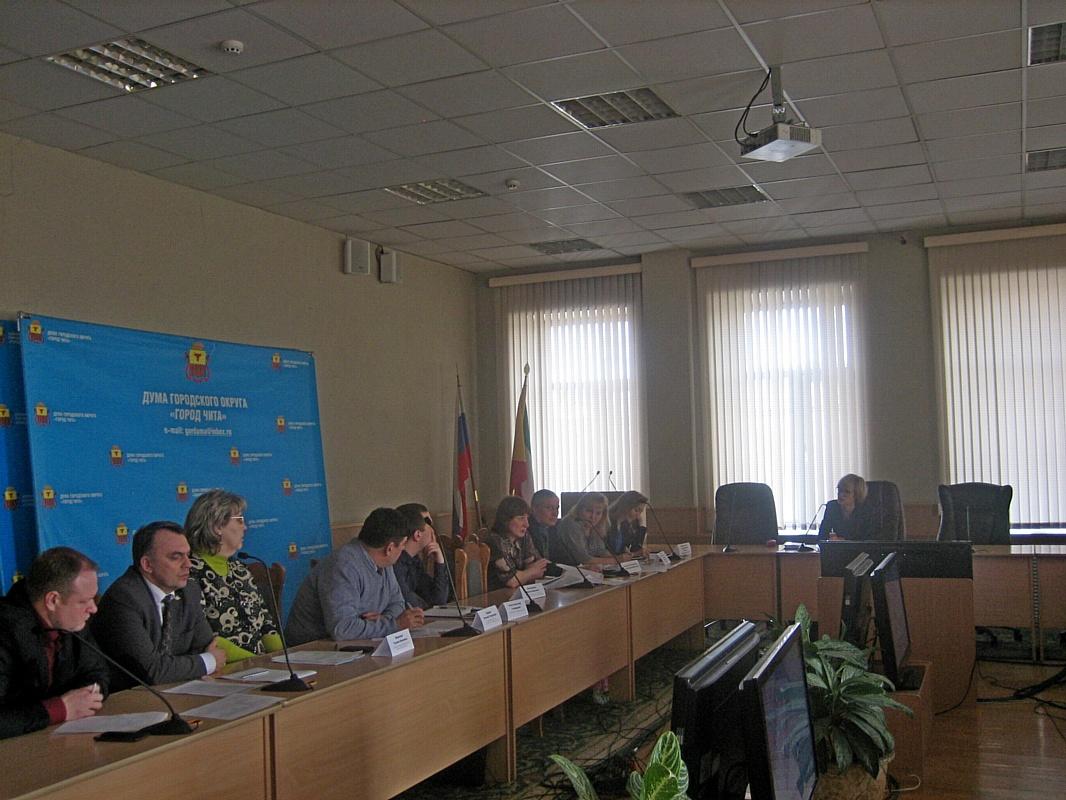 Заседание Общественного совета при уполномоченном по защите прав предпринимателей в Забайкальском крае.