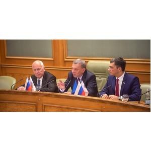 Обсуждение вопросов диверсификации в ОПК. Расширенное заседание бюро СМР и лиги содействия ОПК