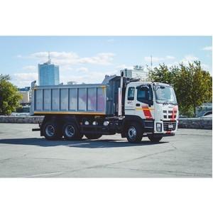 Запуск производства тяжелых грузовиков Isuzu в России
