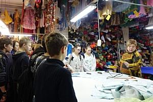 """Профориентация для школьников на швейном производстве """"Мастерская Ангел"""""""