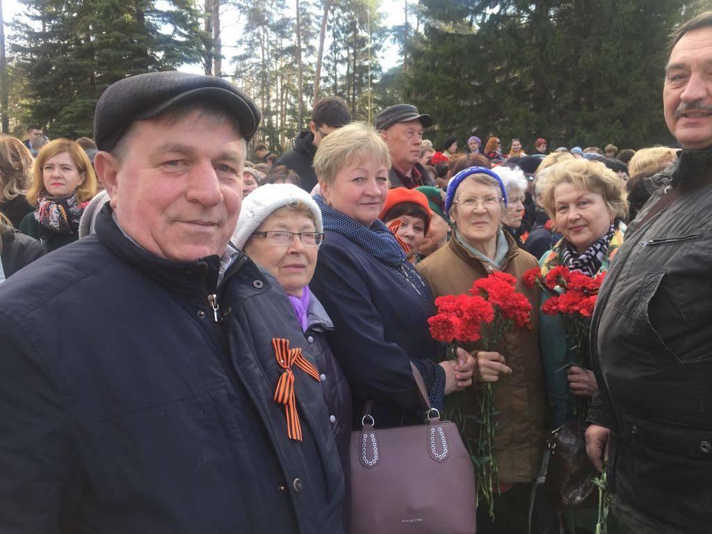 Широкореченский мемориал 9 мая 2018 года