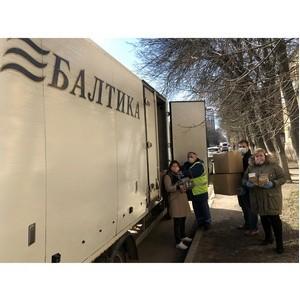 «Балтика» и «Фонд милосердия и здоровья» помогают домам-интернатам