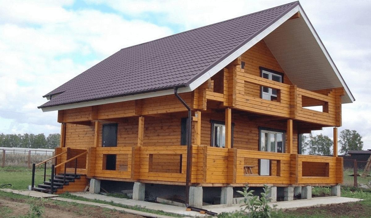 Строительство и доставка домокомплектов из бруса и бревна.