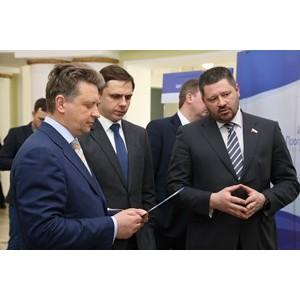 Кластер ГЛОНАСС представил свои разработки министру транспорта России Максиму Соколову