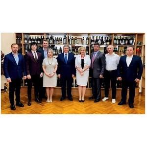 Деловая встреча Посла Молдовы и делегации МАП
