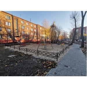 ОНФ добился исправления недостатков ремонта двора в Воронеже