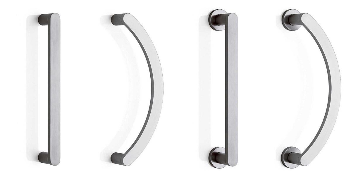 Ручки-скобы Olivari Link, дизайн Пьеро Лиссони.