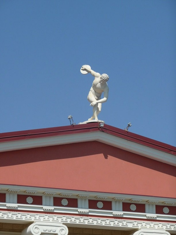 Греческая деревня «Витязево» в Анапе