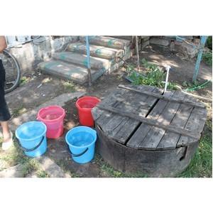 ОНФ Воронежской области помогает добиться нормализации водоснабжения