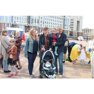 На параде семей ОНФ показали свое творчество 12 многодетных семей из районов Мордовии