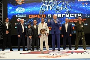 В Орле с триумфом прошел международный турнир по рукопашному бою лиги чемпионов H2HFight