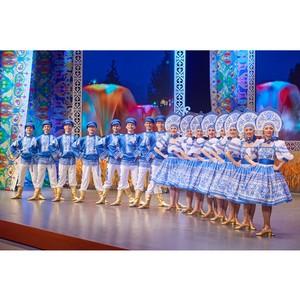 Гости русского фольклорного шоу «Золотое кольцо»
