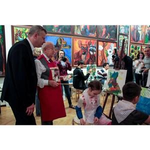Мастер-класс для особенных детей от Зураба Церетели