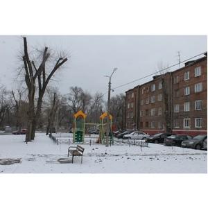 ОНФ обратил внимание на некачественный ремонт двора в Воронеже