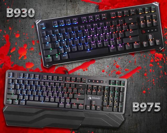 Игровые клавиатуры Bloody B930 и B975 - неограниченная свобода самовыражения