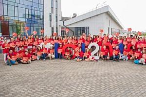 Волонтеры КФУ устроили флешмоб в преддверии IOI-2016