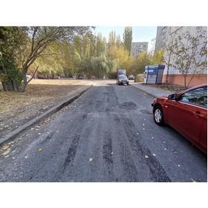 По сигналу ОНФ власти Воронежа отремонтировали проезд на ул. 25 Января