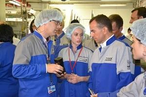 «Нестле Кубань» посетил врио губернатора Краснодарского края