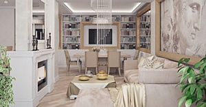 «Аквилон-Инвест» представляет дизайн-проекты эксклюзивных квартир в ЖК «Империал»