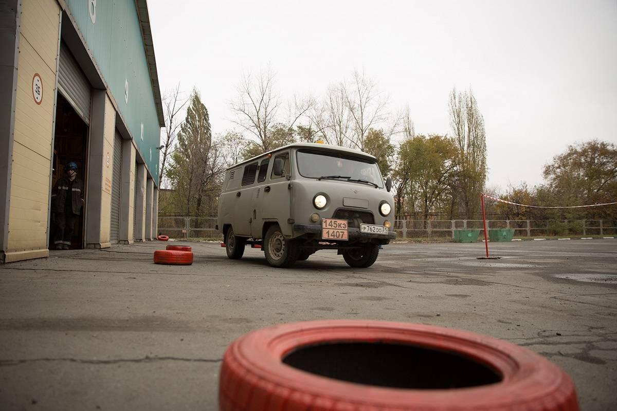 На Стойленском ГОКе выбрали лучшего водителя