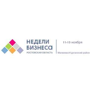 Недели бизнеса для МСП в Матвеево-Курганском районе Ростовской области