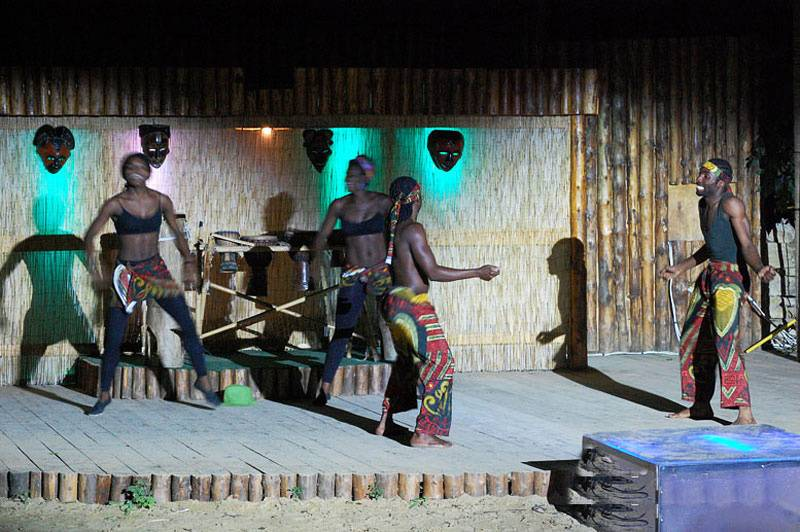 Африканская деревня в Анапе