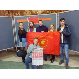 Рубцовский филиал АГУ на мероприятих, посвященных 100-летию Октябрьской социалистической революции