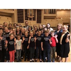 Павел Дорохин поздравил Большой детский хор ВГТРК в День защиты детей