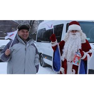 Костромские активисты ОНФ организовали акцию «Новогоднее чудо»