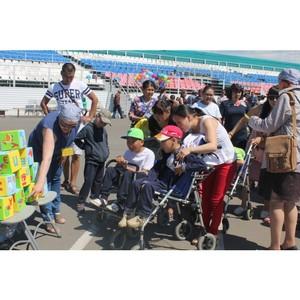Активисты ОНФ в Туве провели праздничное мероприятие для особенных детей