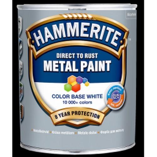 AkzoNobel представляет Hammerite Metal Paint Base Smooth