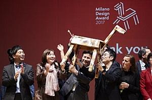 LG и Токуджин Йошиока отмечены высокой наградой на выставке Неделя Дизайна в Милане 2017