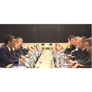 Депутаты Госдумы встретились с делегацией НСФС Швейцарской Конфедерации