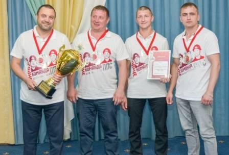 Команда Новосибирского филиала ПГК признана лучшей