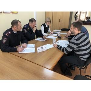 Бизнес-защитник Забайкалья и начальник УМВД края провели приём бизнеса
