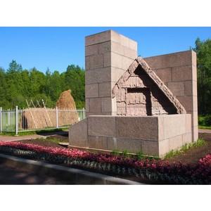 По дороге к музею «Шалаш В.И. Ленина» запущена современная линия наружного освещения
